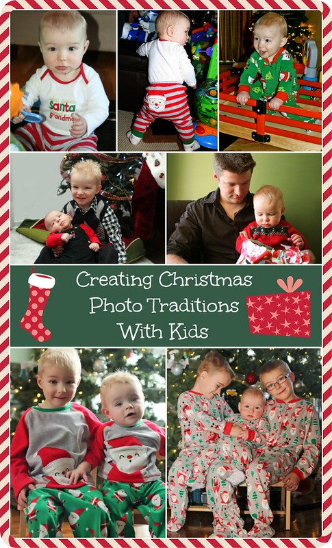 Creating Christmas photo traditions is easy with #CartersOshKosh #Kidsentials! Matching or coordinating pajamas and outfits for years of memories to come!