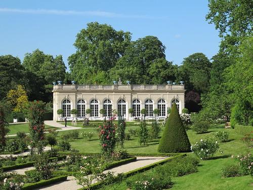 L 39 orangerie jardin de bagatelle bois de boulogne paris for Jardin orangerie