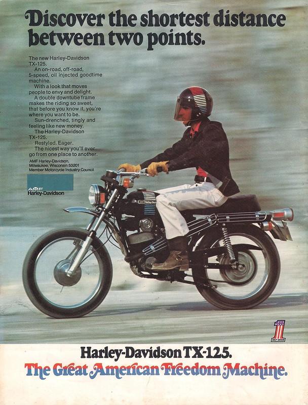 Harley-Davidson TX125