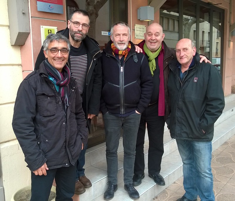 Avec Laurent Sausset, Vincent Roca, Gérard Morel, Patrick London