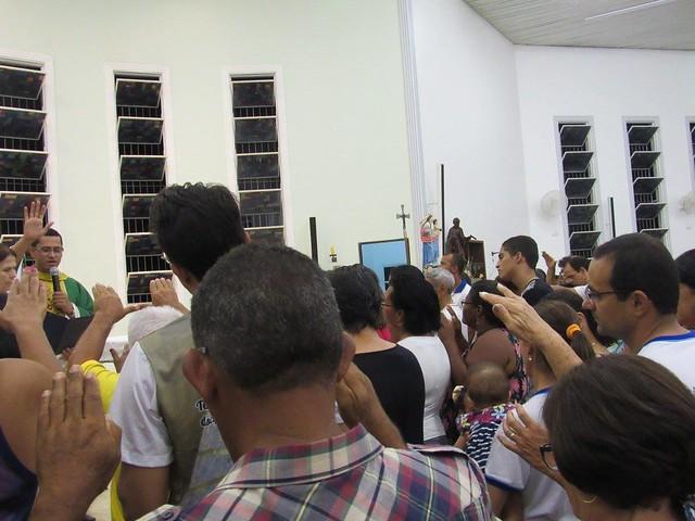 Santa Missa Envio Semana Missionária