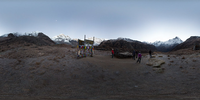 Annapurna Base Camp 360º, Annapurna Sanctuary @ Nepal