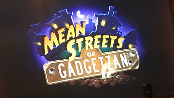 Hearthstone expansion Mean Streets of Gadgetzan released this week