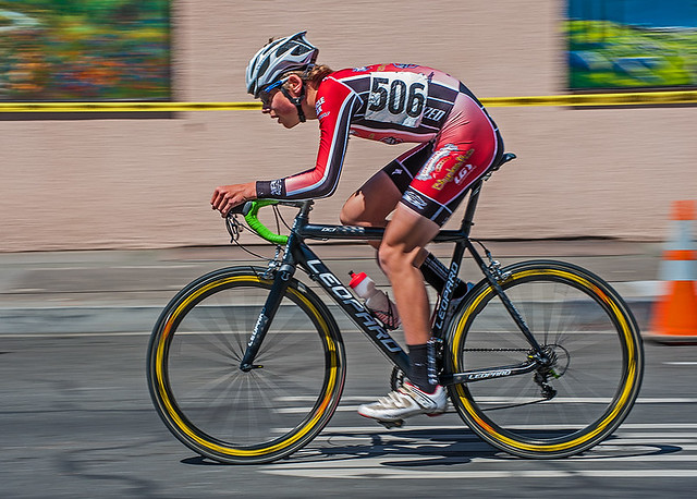 Downtown Cycling Race - Chico, California (4/14/2013)