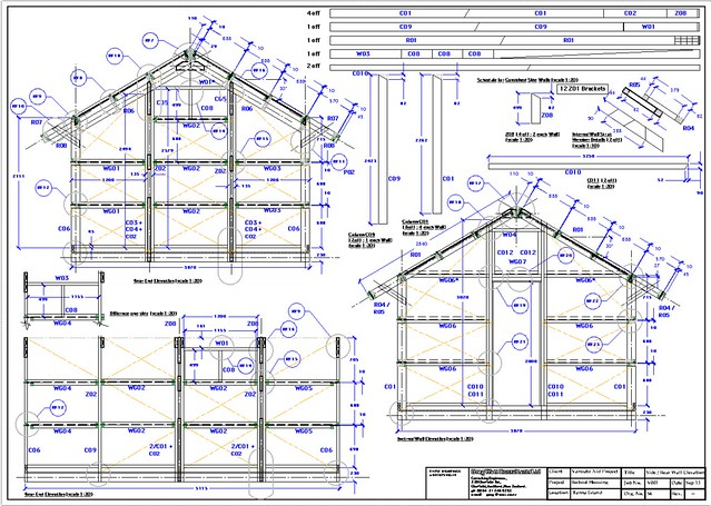 Detailed plans of Robust Buildings form a part of the strtegy to ensure that Robust Bungalows can be erected quickly in remote locations.