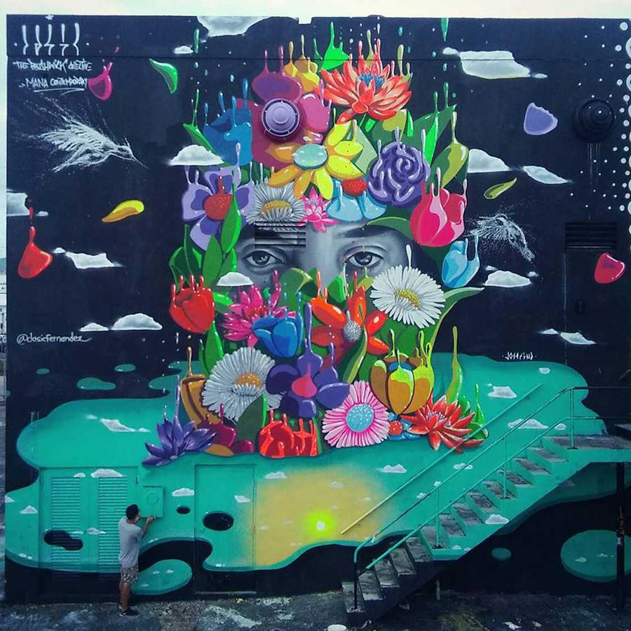 Цвет, который стремится в небо. Новый стиль в уличном искусстве - ПоЗиТиФфЧиК - сайт позитивного настроения!