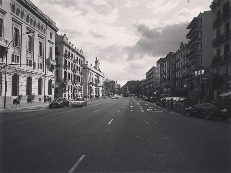 Av. del Marquès de l'Argentera, Barcelona #blackandwhite #negroyblanco #schwarzweiss   #LOVES_BARCELONA #calle #streets #bcn #estaciofrança #barcelona_turisme  #culturetripbcn  #unlimitedbarcelona  #visitbarcelona  #barcelonapicoftheweek  #barcelona_black