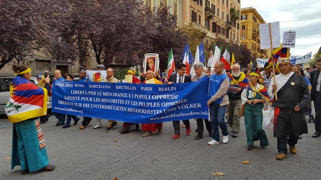 Roma, IX Marcia per la Libertà -8 ottobre 2016