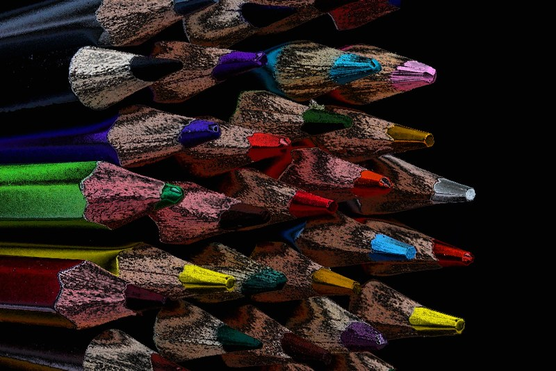Project 366, Day 333: Coloured Pencils