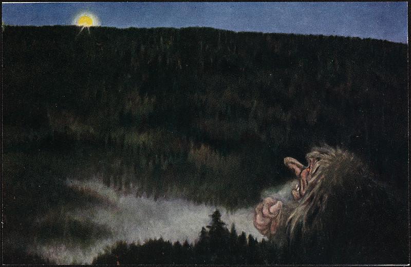 Theodor Kittelsen - Postkort