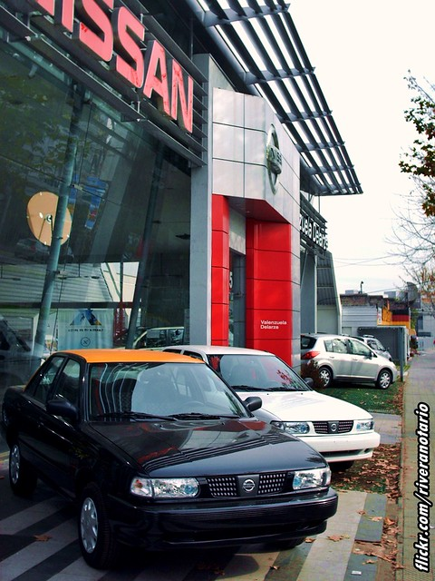 Nissan V16 Taxi - Santiago, 2008 Mayo