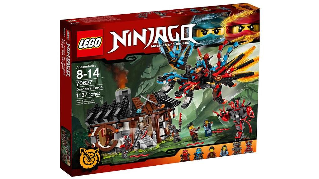 LEGO Ninjago 70627 - Dragon's Forge