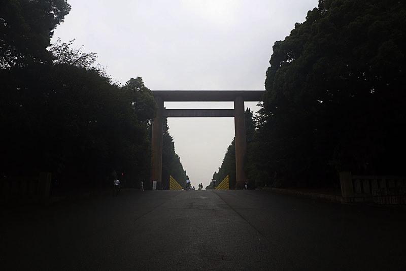 靖国神社の御霊祭り 境内