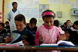 French class at the Sogman primary school in Sejnane | by World Bank Photo Collection