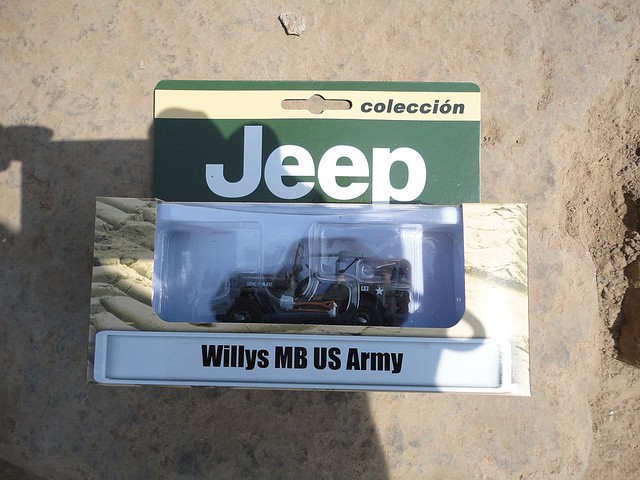 Jeep Willys MB US Army (1942) 1/43 (PCT - IXO)
