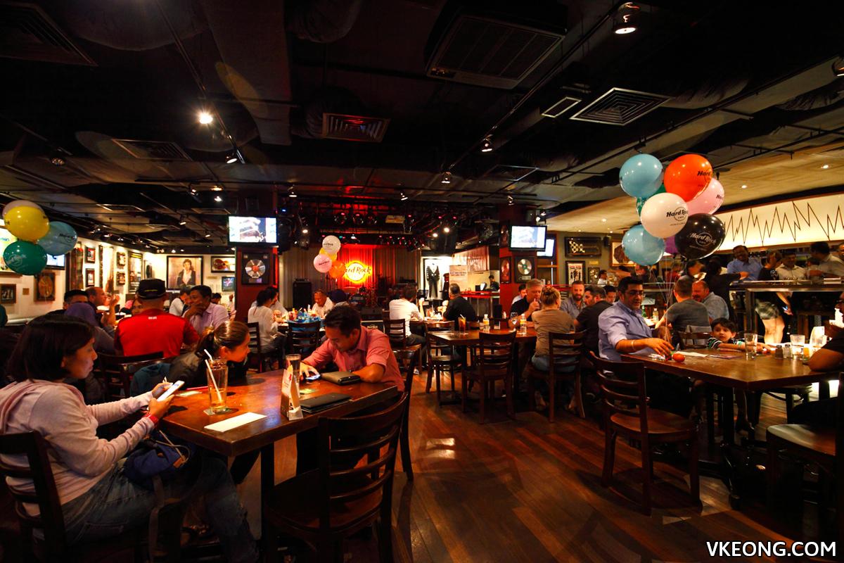 Hard Rock Cafe Restaurant Kuala Lumpur