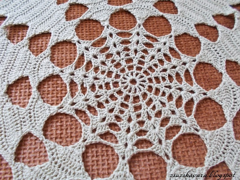 crochet, christmas, tree, doily (2)