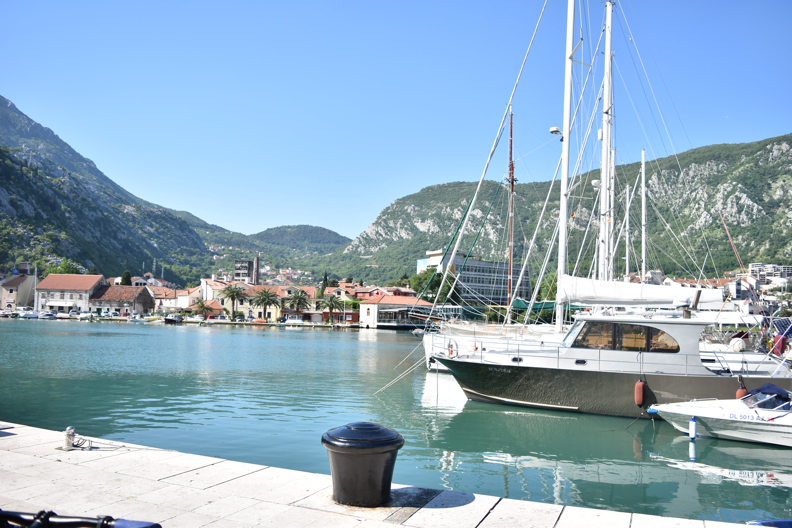 Kotor Bay docking point
