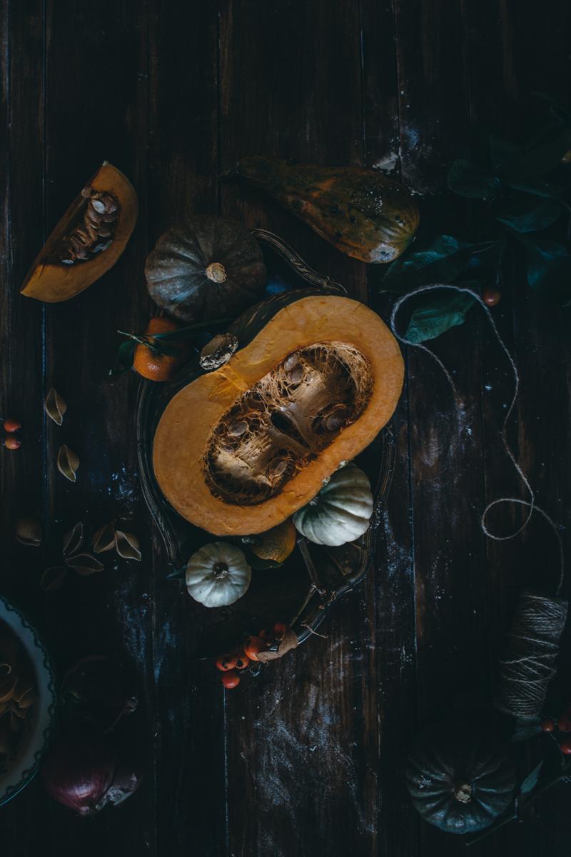 Saffron Pumpkin Pasta Bake for Virtual Pumpkin Party | Pasta al Forno con la Zucca | Lab Noon by Saghar Setareh-5