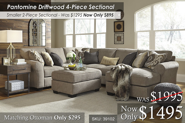 Pantomime Sectional NEW 39102-55-77-34-17-08-T913-3