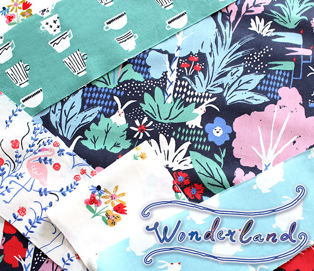 Birch Fabrics Wonderland Collection by Emily Isabella