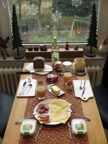 Frühstück am 1. Advent