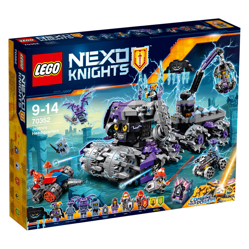 LEGO Nexo Knights 70352 - Jestro's Headquarters