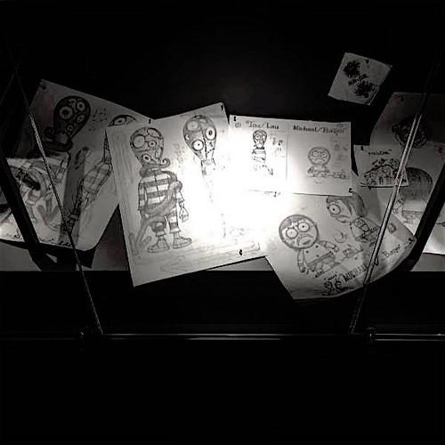 World of Tim Burton Michael Lau Sketches