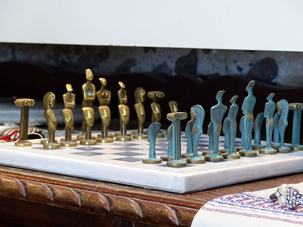 jeu d'échecs cycladique