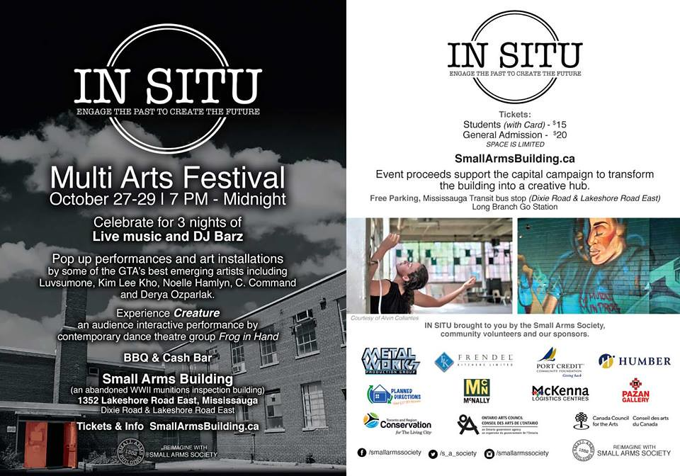In Situ promo flyer