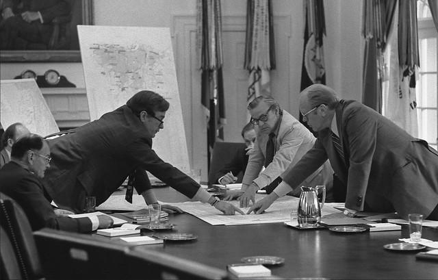 DCI Bush President Ford Lebanon Beirut CIA Maps