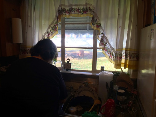 Mom Washing Dishes (Nov 26 2015)