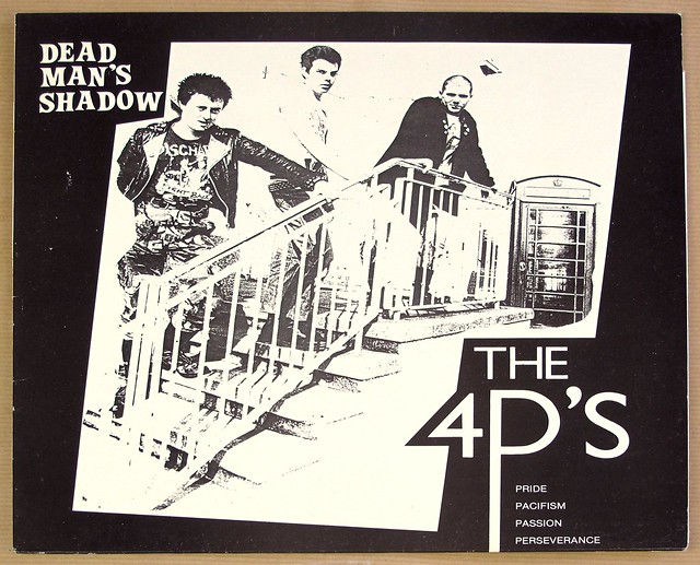 "DEAD MAN'S SHADOW The 4P's Pride Pacifism Passion Perseverance Boppin' Bob 12"" LP VINYL"