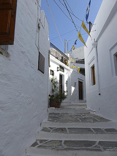 premiers escaliers dans filoti