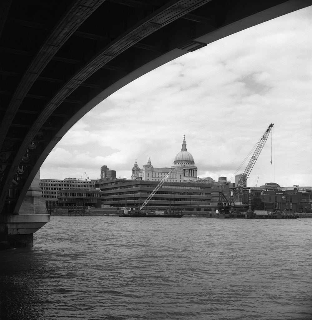 St Paul's from Blackfriars Bridge