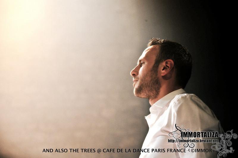 AND ALSO THE TREES DIMANCHE 16 OCTOBRE - CAFE DE LA DANSE. PARIS  30604452612_11e5407c87_c