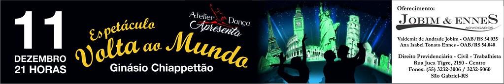 11-12 Espetáculo Volta ao Mundo - Atelier da Dança