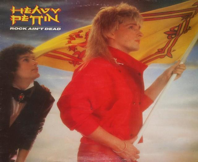 """HEAVY PETTIN ROCK AIN'T DEAD UK PRESSING 12"""" LP"""