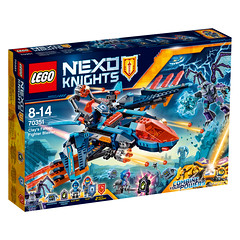 LEGO Nexo Knights 70351 Clay's Falcon Fighter Blaster 1