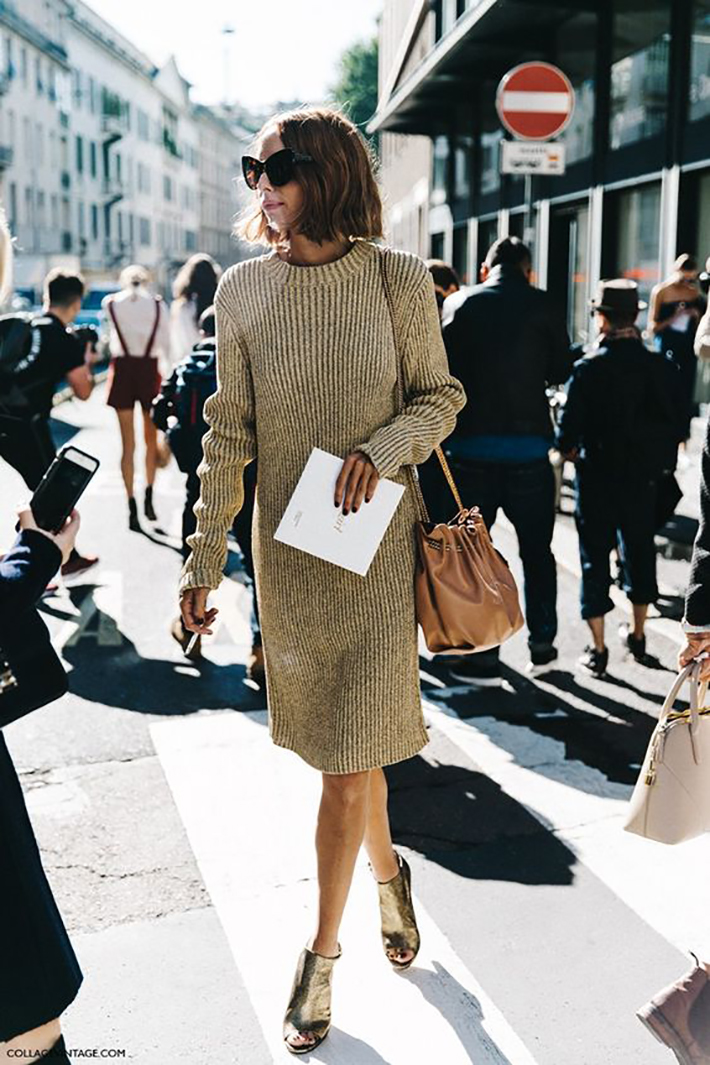 Knitwear rainy day outfit accessories fall style streetstyle winter style fashion trend14