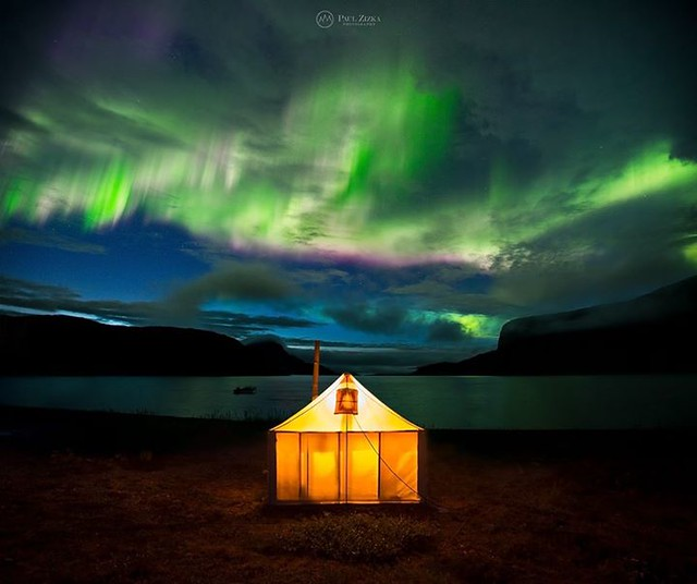 Top 16 of 2016! Image #2. I had the pleasure of photographing the aurora borealis about 50 times this year. It never gets old. A particularly memorable display was this one here, in the Torngat Mountains of Labrador. It was short-lived, but extremely brig