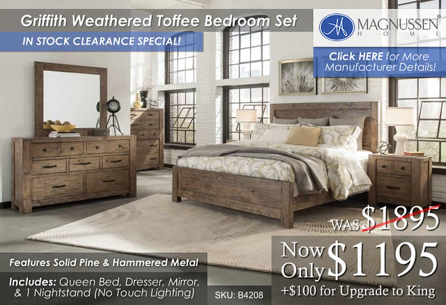 Griffith Bedroom Set B4208