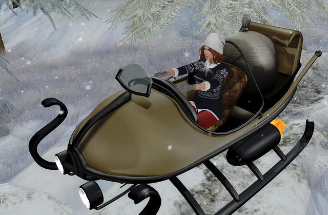 Aitui wearable getaway sleigh, @ Arcade