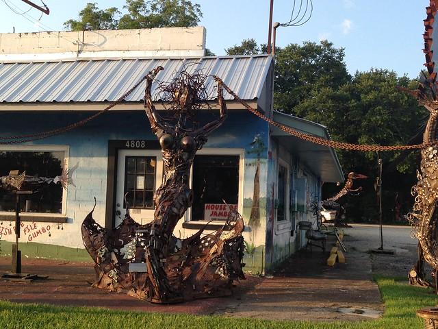 Metalwork Art by Joseph Jilbert, Baton Rouge LA