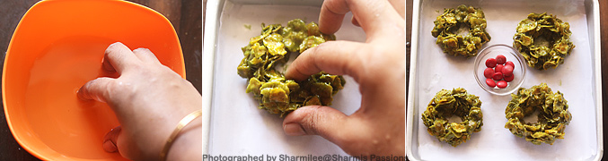 How to make Christmas Cornflake Wreath Cookies Recipe - Step7