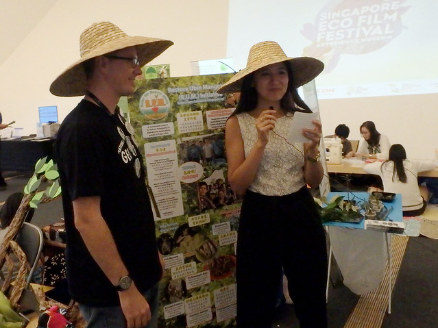 Restore Ubin Mangroves (R.U.M.) Initiative at the Singapore Eco Film Festival 2016
