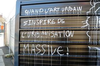 Quand l'art urbain