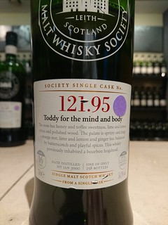 SMWS 121.95 - Toddy for the mind and body