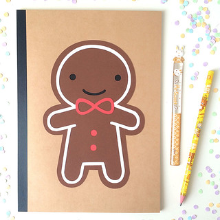 Cookie Cute Paper-cut Notebook