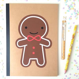 Cookie Cute Paper-cut Notebook